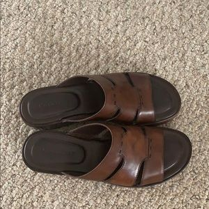 Cole Haan Shoes - Cole Haan women's brown leather sandals